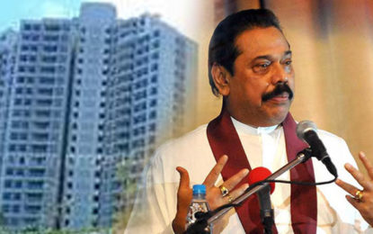 Supreme Court Ordered  to Return Houses  Taken Over By Mahinda Back to Legal Owners
