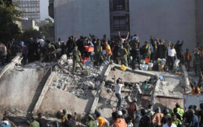Mexico: Huge earthquake topples buildings, killing more than 200