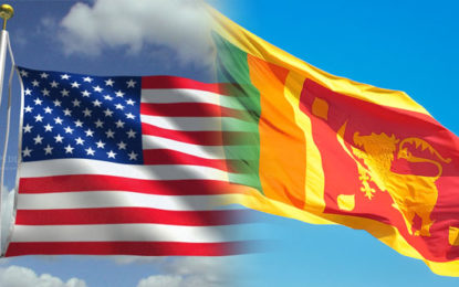 Sri Lanka Commended by US