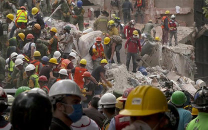 Mexico Earthquake: Death Toll Rises As Search For Survivors Goes On