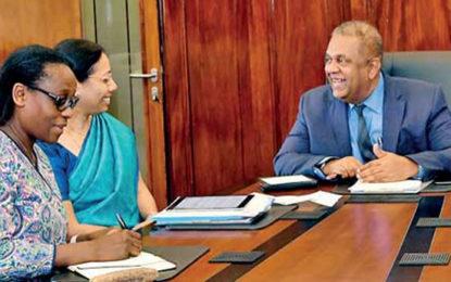 World Bank Representative Met FM Srilanka Yesterday