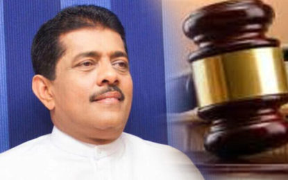 Sarana Gunawardena Ordered to be Produced in Court on 21st November