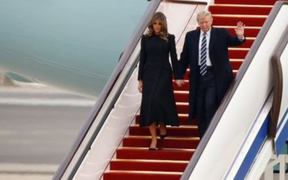 Trump Lands In China For Talks With Xi Amid N Korea Tensions