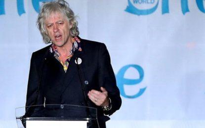 Geldof Returns Dublin Honour In Protest Over Aung San Suu Kyi