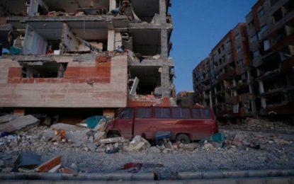 Iran and Iraq quake kills more than 300