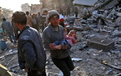 Syria War: Air Strikes On Atareb Market 'Kill More Than 50'