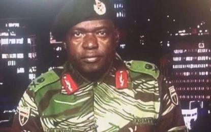 Zimbabwe Crisis: Army Says It Is 'Targeting Criminals', Not Mugabe