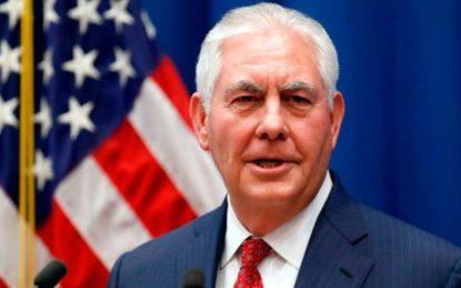 Tillerson Calls For Myanmar Rohingya Crisis Probe