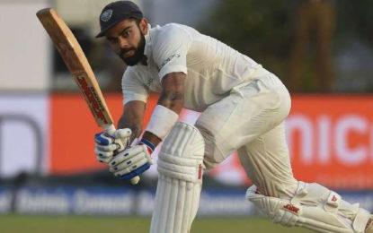 SL Vs Ind Test: Kohli Hits 50 Intl. Century