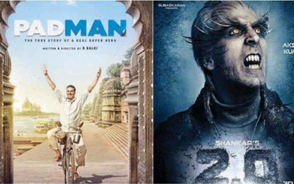 Akshay Kumar opens up on Padman and 2.0 clash, asks 'why would I clash with my own film?'
