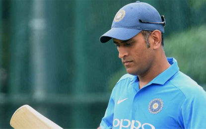 Dhoni Should Approach T20s Differently – Ganguly