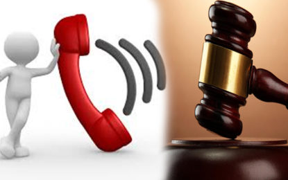 Matara Court Proceedings Disturbed Due to a Telephone Call Given to 119……………………