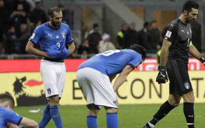 FIFA World Cup 2018 Qualifiers: Italy Fail To Make Finals for First Time in 60 Years After Goalless Draw With Sweden