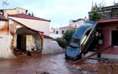 Greece: Deadly Floods Hit Mandra, Nea Peramos and Megara