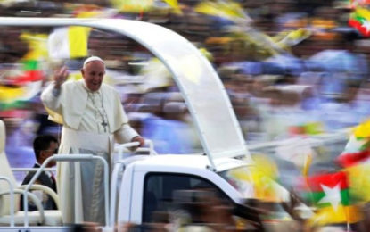 Myanmar Mass: Pope Issues Warning On Exacting Revenge