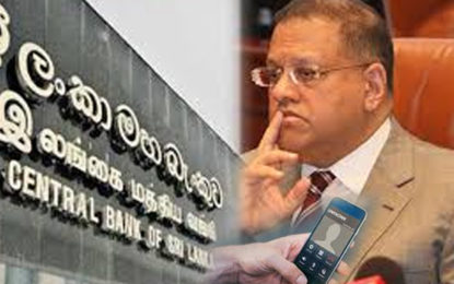 CID Reported 7 Telephone Calls and SMS Between PTL CEO and Fmr Governor of CB Arjuna Mahendran?