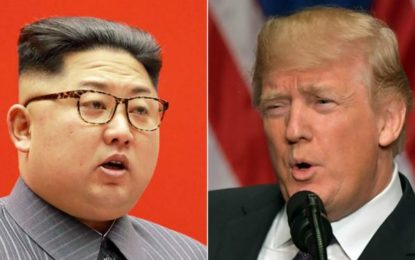 North Korea: Trump praises latest UN sanctions over missiles