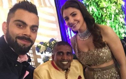 Kohli invites Gayan for His Wedding Reception