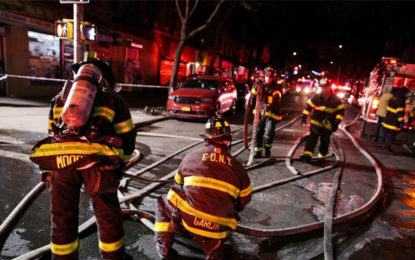 Twelve Dead in New York City Apartment Fire: Mayor