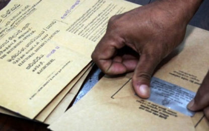 Application For Postal Voting Deadline Extended.