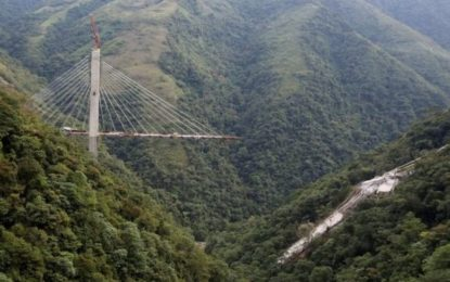 Colombia Motorway Bridge Collapses Killing Nine Workers