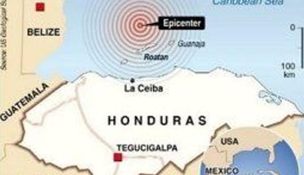 Tsunami advisory issued after Magnitude 7.6 Earthquake Strikes Near Great Swan Island, Honduras