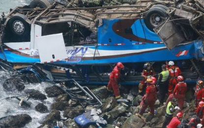 Peru Pasamayo: Dozens Killed as Coach Plunges Off Cliff