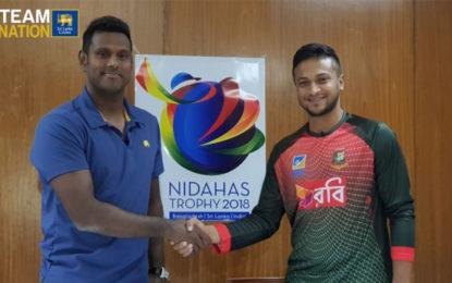 Sri Lanka formally invites Bangladesh for the 'Nidahas Trophy 2018'