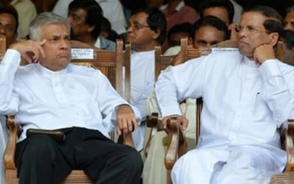 Maithree to Remove Ranil and Form a New Government After LG Election?