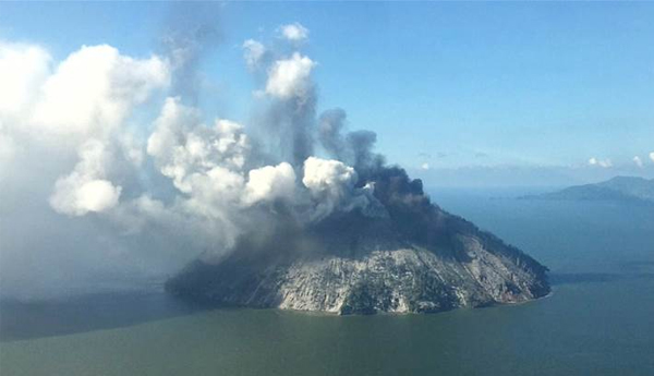 People Evacuated From Papua New Guinea Island After Volcano Explodes