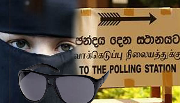 Wearing Sun Glass & Burka During Voting Prohibited