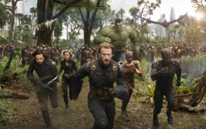 Avengers Infinity War Will Have 76 Characters