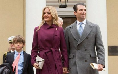 Donald Trump Jr.'S Wife Taken To Hospital After Opening Envelope With White Powder