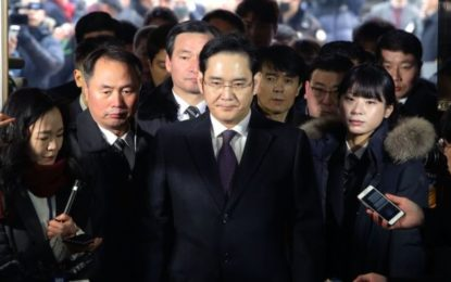 Samsung Heir Freed From S Korea Jail