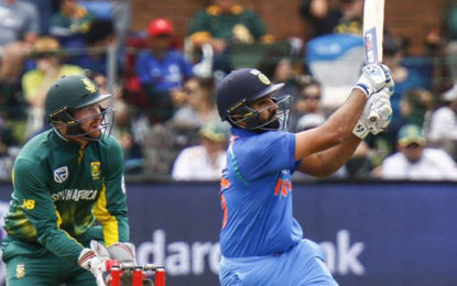 India Vs South Africa 5th ODI: Opener Rohit Sharma Gives the Finishing Touches to Series Win