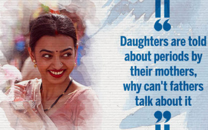 Padman Actor Radhika Apte: Daughters Are Told About Periods By Their Mothers, Why Can't Fathers Talk About It