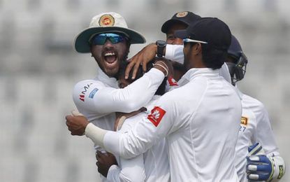 Sri Lanka Beat Bangladesh By 215 Runs In 2nd Test, Take Series 1-0
