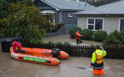 Ex-Cyclone Hit New Zealand