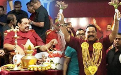 Mahinda in Jaffna After 3 Years