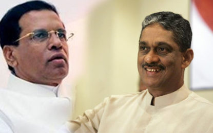 Field Marshal Sarath Fonseka Meets President Today