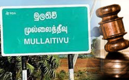 Over 100 Incidents of Election Violence Reported in Mullaitivu