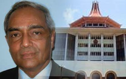 Supreme Court Issues Stay Order in CJ Mohan Pieris Case