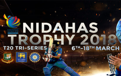 Ticket Counters at SLC and RPICS Will Be Opened For Nidahas Trophy Tickets