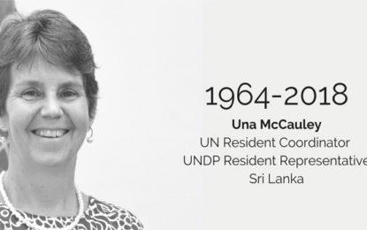 UN Resident Coordinator in Sri Lanka Passes Away
