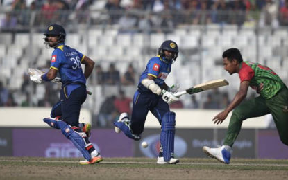 Srilanka won by 6 wickets at Dhaka