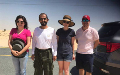 Dubai Sheikh Mohammed Rescues Tourists Stuck In Desert