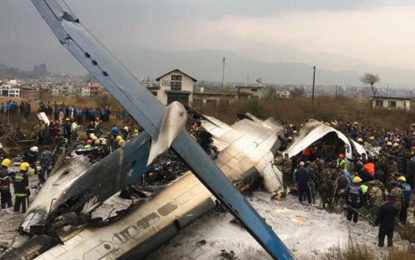 Over 50 Feared Dead In Kathmandu Plane Crash
