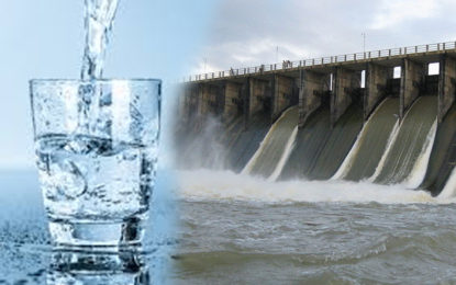 Drinking Water Project of Rajanganaya Suspended