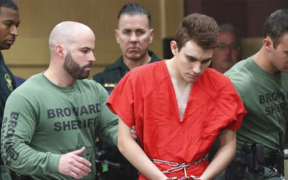 Florida School Shooting Suspect Remains Silent in Court