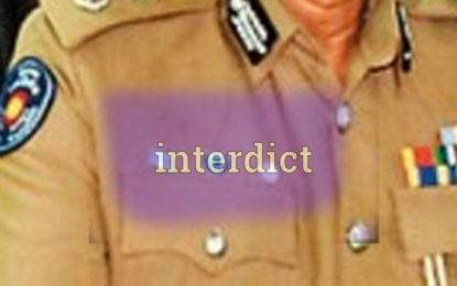 Wennappuwa ASP Interdicted By the IGP